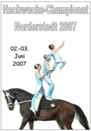 Bundes-Nachwuchschampionat Norderstedt 2007