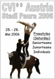 CVI** Austria Stadl Paura 2006 - Paket 2 Samstag (Kür)