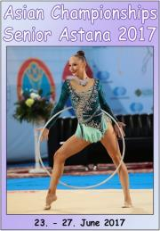 Asian Senior Championships Astana 2017 - HD