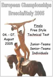 European Vaulting Championships Brescia 2005