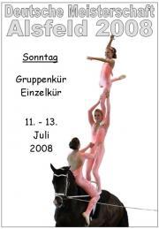 Deutsche Meisterschaft Voltigieren Alsfeld 2008