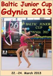 Baltic Junior Cup Gdynia 2013