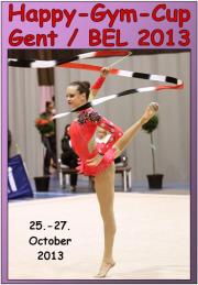 Happy-Gym-Cup Gent 2013