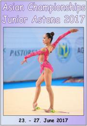 Asian Junior Championships Astana 2017