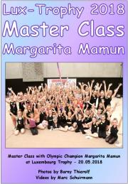 Master Class with Margarita Mamun - Lux-Trophy 2018