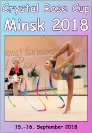 Crystal Rose Cup Minsk 2018