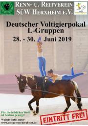 Deutscher Voltigierpokal Herxheim 2019 - Original Videos