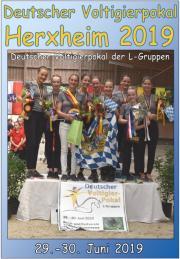 Deutscher Voltigierpokal Herxheim 2019 - VideoDVD