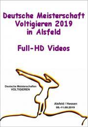 Deutsche Meisterschaft Voltigieren Alsfeld 2019 - Full-HD Videos